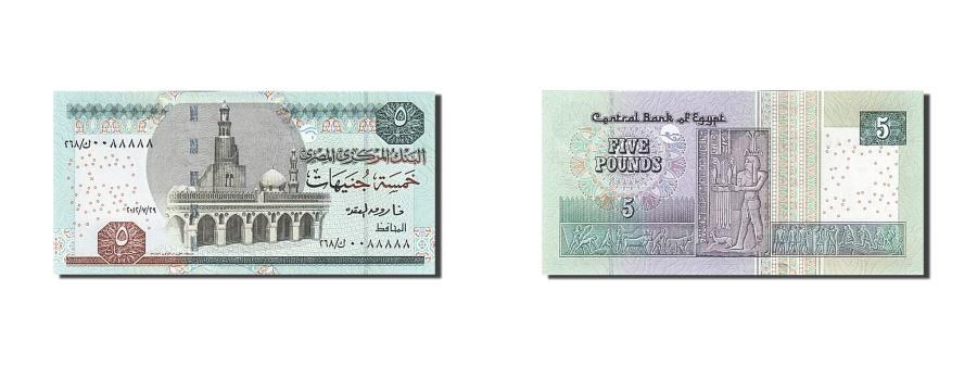 World Coins - Egypt, 10 Piastres, 1973, KM #183c, UNC(63)