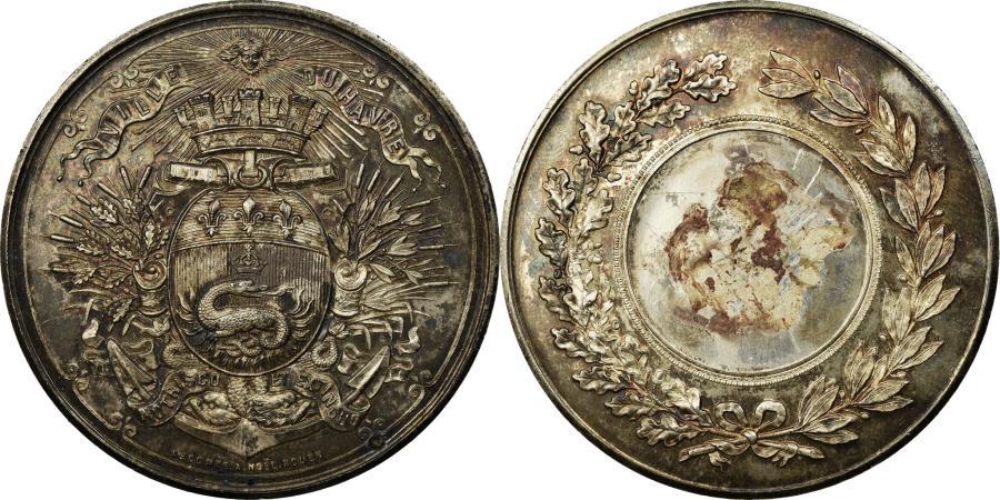 World Coins - France, Medal, Ville du Havre, Lecomte, , Silver
