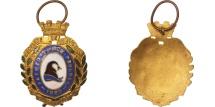World Coins - France, Société de Gymnastique de Guebwiller, Sports & leisure, Medal, 1860