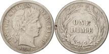 Us Coins - United States, Barber Dime, Dime, 1911, U.S. Mint, San Francisco, VF(30-35)