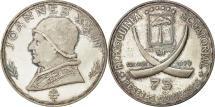 World Coins - Coin, Equatorial Guinea, 75 Pesetas, 1970, AU(55-58), Silver, KM:8