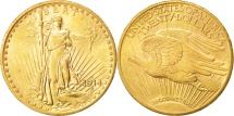 Us Coins - United States,Saint-Gaudens,$20,1914,San Francisco,AU(55-58)