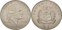 World Coins - Samoa, Tala, 1970, AU(55-58), Copper-nickel, KM:9