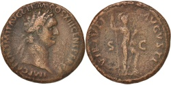 Ancient Coins - Domitian, As, 87, Roma, , Copper, RIC:550