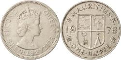 World Coins - Mauritius, Elizabeth II, Rupee, 1978, , Copper-nickel, KM:35.1