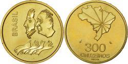 World Coins - Coin, Brazil, 300 Cruzeiros, 1972, ESSAI, , Brass, KM:Pr7
