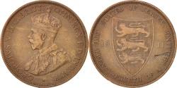 World Coins - Jersey, George V, 1/12 Shilling, 1911, Heaton, , Bronze, KM:12