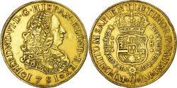World Coins - Coin, Peru, Ferdinand VI, 8 Escudos, 1751, Lima, , Gold, KM:50
