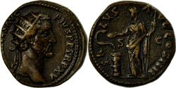 Ancient Coins - Coin, Antoninus Pius, Dupondius, 151-152, Rome, , Bronze, RIC:894