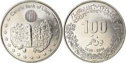 World Coins - Coin, Libya, 100 Dirhams, 2014, , Nickel plated steel