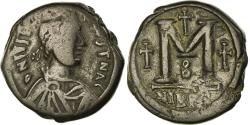 Ancient Coins - Coin, Justin I, Follis, 518-522, Nicomedia, , Copper, Sear:84