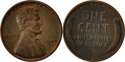 Us Coins - Coin, United States, Lincoln Cent, Cent, 1944, U.S. Mint, Denver,
