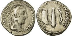 Ancient Coins - Coin, Commodus, Denarius, Rome, EF(40-45), Silver, RIC:253