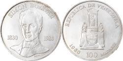 World Coins - Coin, Venezuela, 100 Bolivares, 1980, British Royal Mint, , Silver