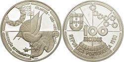 World Coins - Coin, Portugal, 100 Escudos, 1990, , Silver, KM:649a