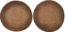 World Coins - Netherlands, Token, Spanish Netherlands, Philippe IV, XVIIth Century