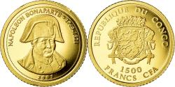 World Coins - Coin, CONGO, DEMOCRATIC REPUBLIC, Napoléon Bonaparte, 1500 Francs CFA, 2007