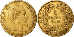 Ancient Coins - Coin, France, Napoleon III, 5 Francs, 1856, Paris, , Gold, KM:787.1