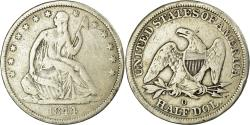 Us Coins - Coin, United States, Seated Liberty Half Dollar, Half Dollar, 1844, U.S. Mint