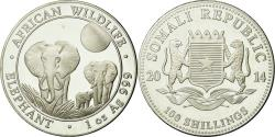 World Coins - Coin, Somalia, 100 Shillings, 2014, Proof, , Silver