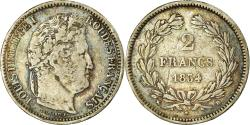 World Coins - Coin, France, Louis-Philippe, 2 Francs, 1834, Rouen, , Silver