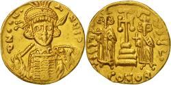 Ancient Coins - Constantine IV Pogonatus, Solidus, Constantinople, , Gold, Sear:1154