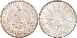 World Coins - Coin, Mexico, Peso, 1908, Mexico City, , Silver, KM:409.2