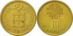 World Coins - Portugal, 10 Escudos, 1988, , Nickel-brass, KM:633