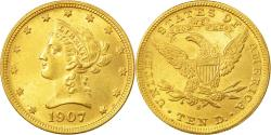 Us Coins - Coin, United States, Liberty Head, $10, 1907, San Francisco, , Gold