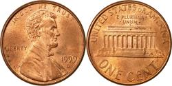 Us Coins - Coin, United States, Lincoln Cent, Cent, 1999, U.S. Mint, Denver,
