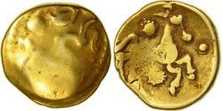 "Coin, Bellovaci, Stater ""à l'astre"", , Gold, Delestrée:268var"