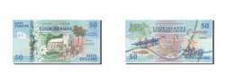World Coins - Cook Islands, 50 Dollars, 1992, KM:10a, UNC