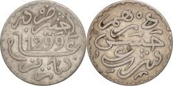 World Coins - Morocco, Moulay al-Hasan I, Dirham, 1882, Paris, , Silver, KM:5