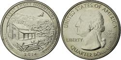 Us Coins - Coin, United States, Quarter, 2014, Philadelphia, , Copper-Nickel Clad