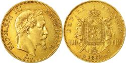 Ancient Coins - Coin, France, Napoleon III, 100 Francs, 1862, Strasbourg, Gold
