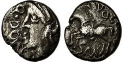 Ancient Coins - Coin, Sequani, Quinarius or Denarius Q.DOCI, , Silver, Delestrée:3245