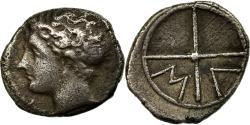 Ancient Coins - Coin, Massalia, Obol, Marseille, EF(40-45), Silver, SNG Cop:723-8