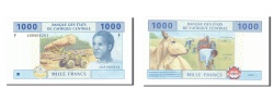 World Coins - Central African States, 1000 Francs, 2002, KM #507F, UNC(65-70), F 488908201