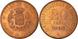 World Coins - Coin, France, Chambre de Commerce, Blois, 20 Centimes, 1918, ESSAI,
