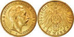 World Coins - Coin, German States, PRUSSIA, Wilhelm II, 20 Mark, 1911, Berlin,