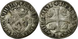 World Coins - Coin, France, Henri III, Douzain, 1578, Saint Lô, , Billon