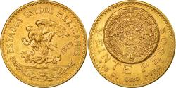 World Coins - Coin, Mexico, 20 Pesos, 1919, Mexico City, , Gold, KM:478