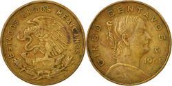 World Coins - Coin, Mexico, 5 Centavos, 1969, Mexico City, , Brass, KM:426