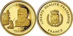 Ancient Coins - France, Medal, Victor Hugo, Arts & Culture, , Gold