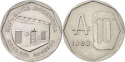 World Coins - Argentina, 10 Australes, 1989, , Aluminum, KM:102