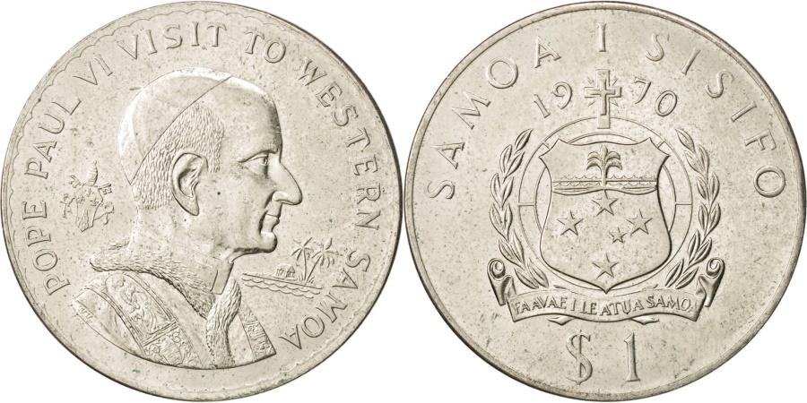 World Coins - SAMOA, Tala, 1970, KM #10, , Copper-Nickel, 38.8, 27.43