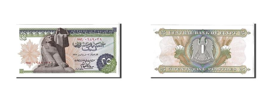World Coins - Egypt, 25 Piastres, 1976, KM #47a, UNC(65-70)