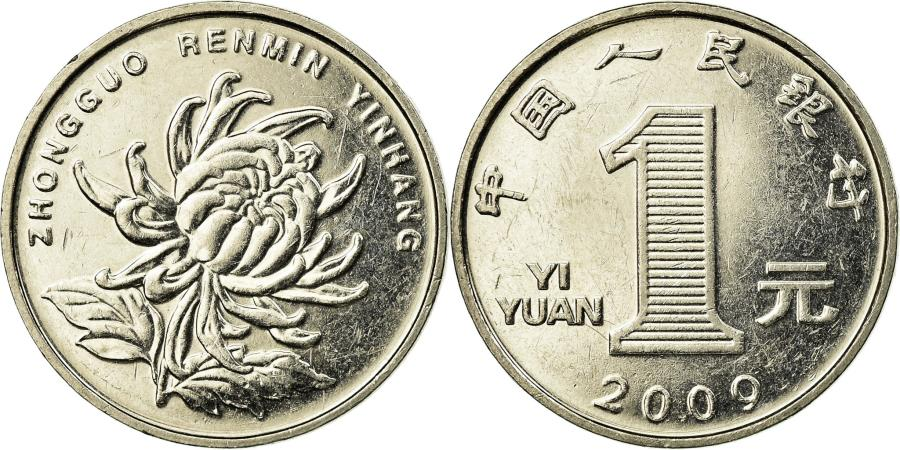 World Coins - Coin, CHINA, REPUBLIC OF, TAIWAN, Yuan, 2009, , Aluminum-Bronze, KM:551
