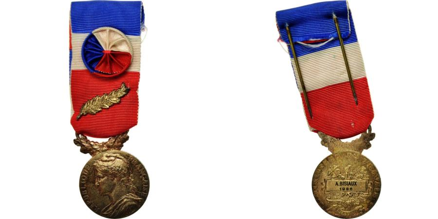 World Coins - France, Médaille d'honneur du travail, Medal, 1986, Very Good Quality, Borrel