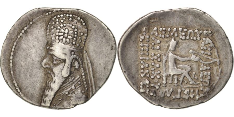 Ancient Coins - Parthia (Kingdom of), Mithridates II (123-88 BC), Drachm, , Argent,...